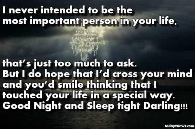 Good Night Sleep Tight Messages