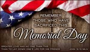Inspirational Memorial Day 2017 Quotes and Sayings by Presidents